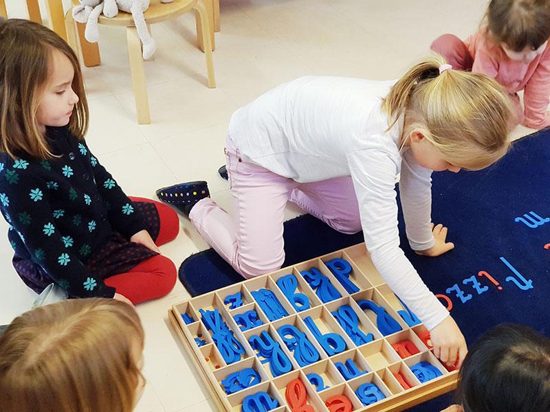 materil montessori école