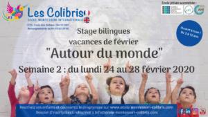 Semaine 2 stages bilingues vacances février