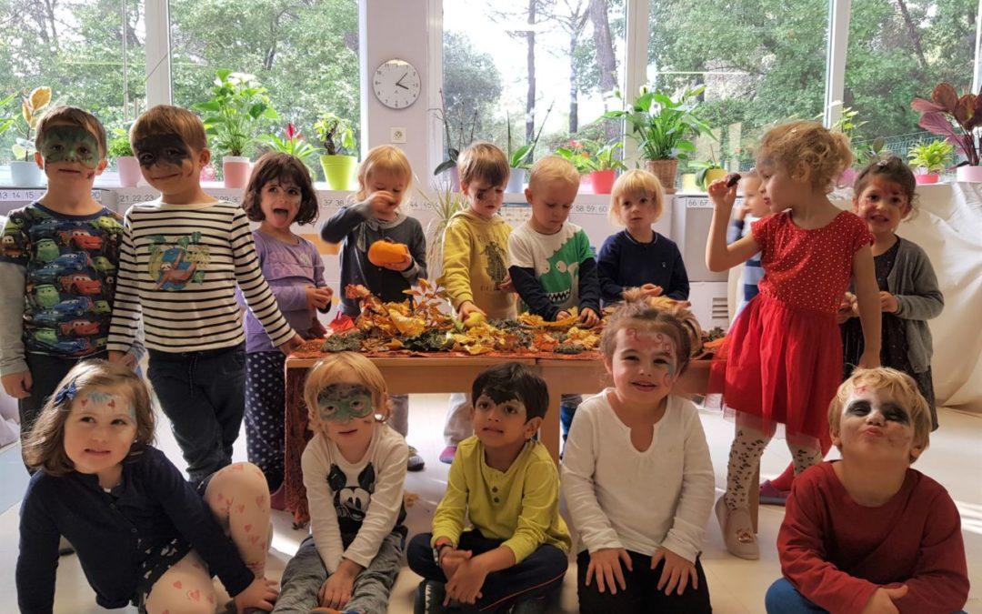 Workshops at Les Colibris School – Toussaint