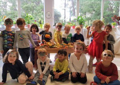 Stages bilingues 3-5 ans groupe 3-5 ans