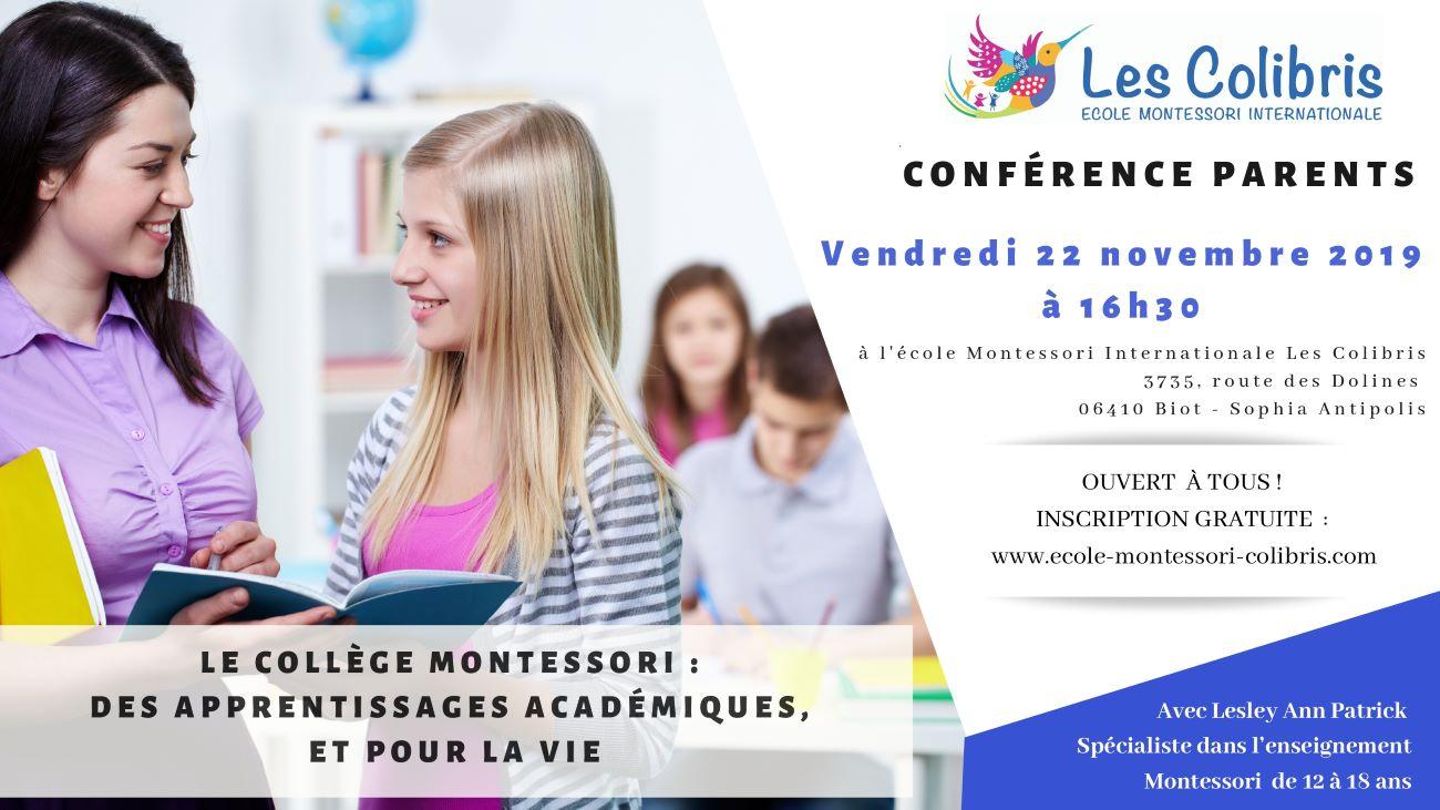 Conférence collège