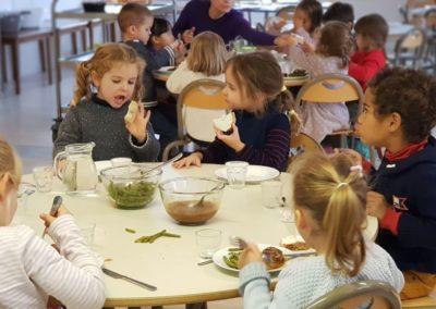 Cantine mercredi Montessori