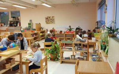 Un mercredi Montessori dans le groupe 3-6 ans