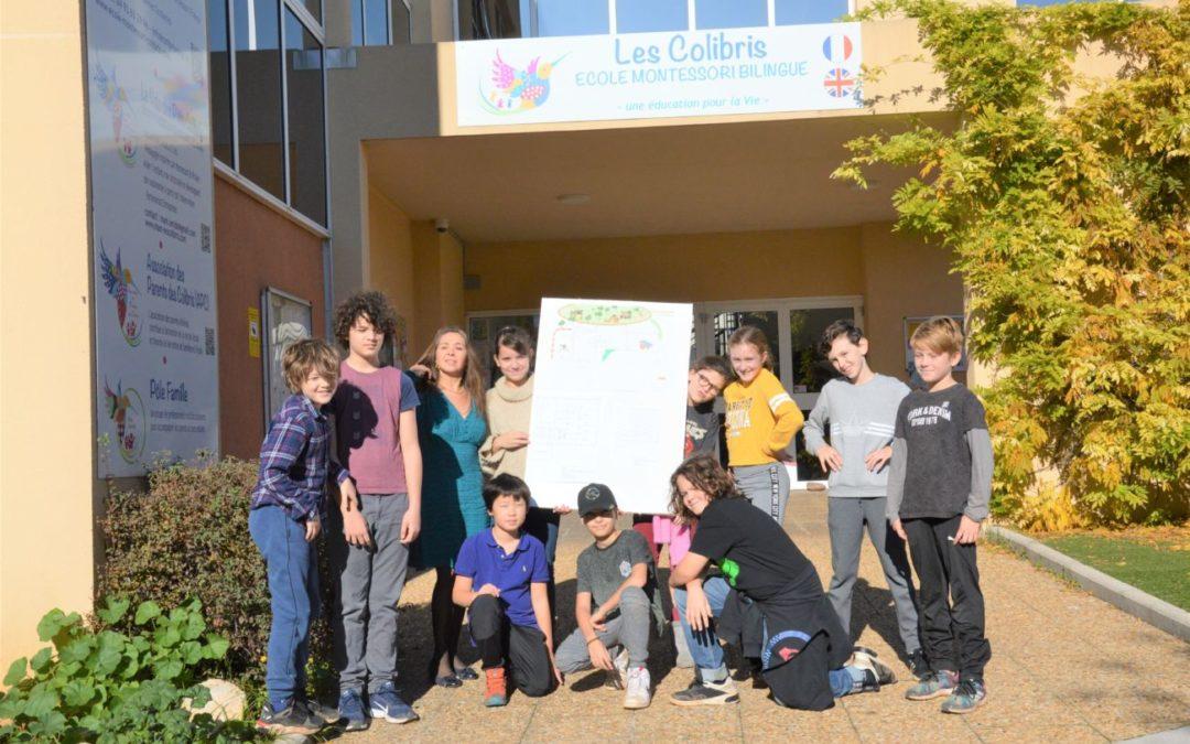 Interview sur l'ouverture du collège Montessori en septembre 2020
