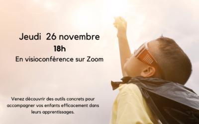 Conférence – Comment les enfants réussissent
