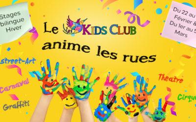 Programme du Kids Club pour les vacances d'hiver – Kids Club program for winter holidays