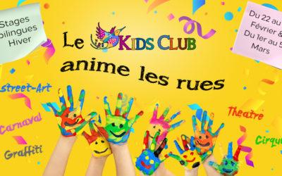 Vacances d'hiver Le Kids Club se prépare pour animer les rues