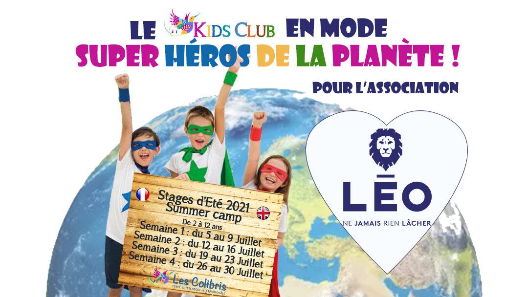 Solidarity holidays at Les Colibris!