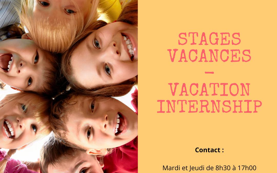 Holiday internships