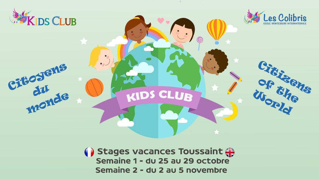 Vacances Toussaint 2021